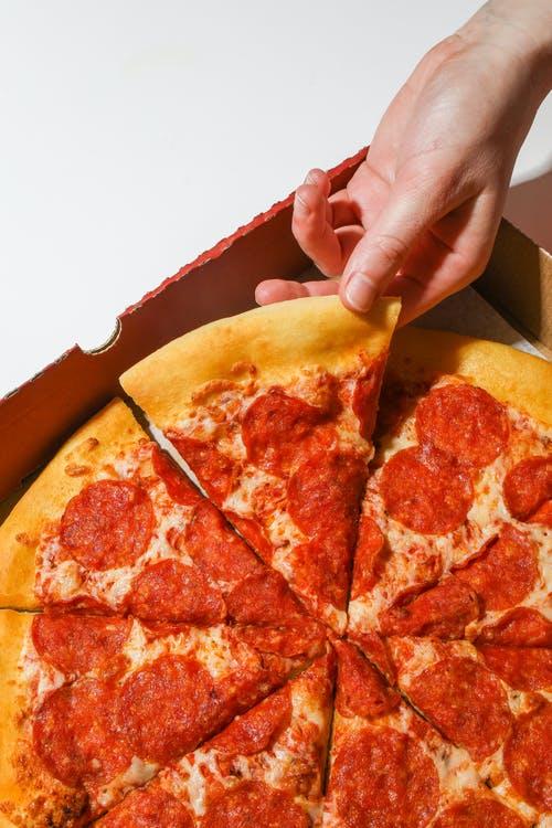 Pizza uit de oven