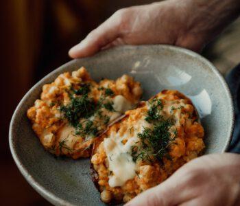 zoete aardappel in de oven